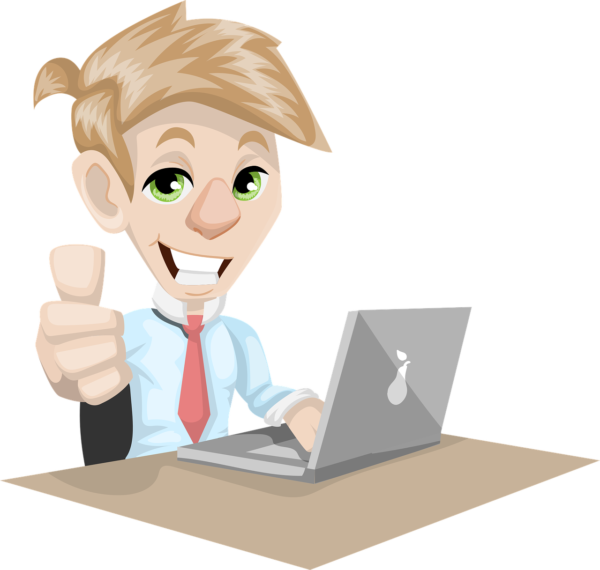 Start a business on social media with bloggeraayu. A business man featured image.
